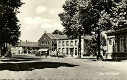 Nederland, UDEN, Marktstraat, Daf, VW Bus (1961) Ansichtkaart - Uden