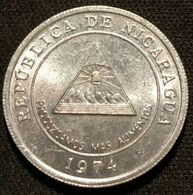 NICARAGUA - 5 CENTAVOS DE CORDOBA 1974 - FAO - KM 28 - Nicaragua