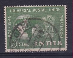 India: 1949   U.P.U.    SG325     9p    Used - Used Stamps