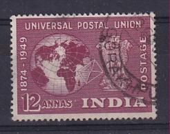 India: 1949   U.P.U.    SG328     12a    Used - Used Stamps