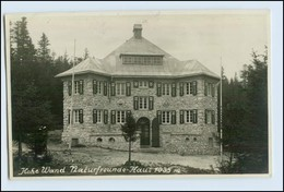W1E05/ Naturfreundehaus Hohe Wand Foto AK 1929 - Oostenrijk