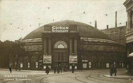 CIRQUE ( Carte Photo)  DANEMARK Copenhague  CIRKUS SCHUMANN - Zirkus