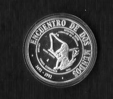 NICARAGUA. AÑO 1994. 5 CÓRDOBA PLATA. II SERIE IBEROAMERICANA. - Nicaragua