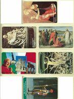 CARTA TELEFONICA VATICANA - NUMERO 17/22 - NUOVA - URMET- GARANTITE MAGNETIZZATE  - VATICAN PHONE CARD - Vatikan