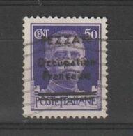 FEZZAN:  1943  OCCUPAZIONE  FRANCESE  -  50 C. VIOLETTO  US. -  SOPRASTAMPA  FALSA  -  C.E.I. (1) - Fezzan (1943-1951)