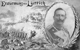 Germany Duitsland 26/09/1914 WOI  Kriegs Karte Kriegskarte Erstürmung Von Lüttich  GPD Nr 1    M 4510 - Vari