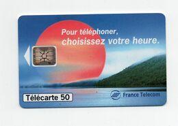 "Télécarte France Telecom ""choisissez Vos Heures"" - Telecom Operators"