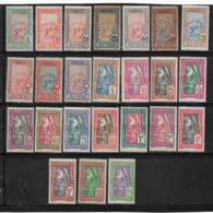 Colonie Colis Postaux De Tunisie  De 1906/26  N°1 A 25 Neufs * (sauf N°13) Cote 162€50 - Altri