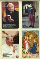 CARTA TELEFONICA VATICANA - NUMERO 48/51 - NUOVA - URMET- GARANTITE MAGNETIZZATE - VATICAN PHONE CARD - Vatikan