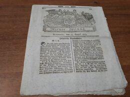Old Newspapers - Wiener Zeitung  1803 Year - Non Classés