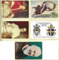 CARTA TELEFONICA VATICANA - NUMERO 56/60 - NUOVA - URMET- GARANTITE MAGNETIZZATE - VATICAN PHONE CARD - Vatikan