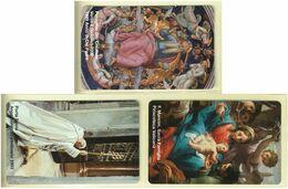 CARTA TELEFONICA VATICANA - NUMERO 61/64 - NUOVA - URMET- GARANTITE MAGNETIZZATE - VATICAN PHONE CARD - Vatikan