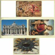 CARTA TELEFONICA VATICANA - NUMERO 65/68 - NUOVA - URMET- GARANTITE MAGNETIZZATE - VATICAN PHONE CARD - Vatikan