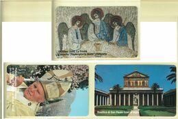 CARTA TELEFONICA VATICANA - NUMERO 69/72 - NUOVA - URMET- GARANTITE MAGNETIZZATE - VATICAN PHONE CARD - Vatikan
