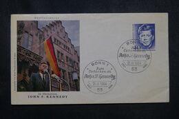 ALLEMAGNE - Enveloppe FDC En 1964 - Kennedy - L 70009 - FDC: Sobres
