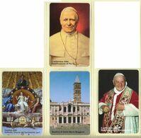 CARTA TELEFONICA VATICANA - NUMERO 73/76 - NUOVA - URMET- GARANTITE MAGNETIZZATE - VATICAN PHONE CARD - Vatikan