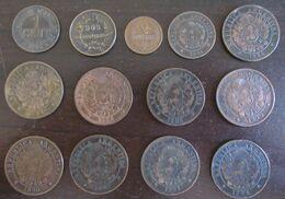 Argentine, Pérou, Haïti, Uruguay - Petite Collection De Monnaies Entre 1876 Et 1944 - Mezclas - Monedas