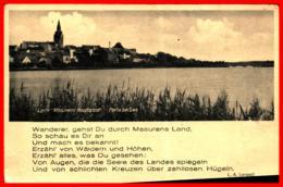 Lyck Elk Masurens Hauptstadt Partie Am See Ugl - Ostpreussen