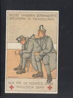 KuK PK Gefangene Im Feindesland - Weltkrieg 1914-18