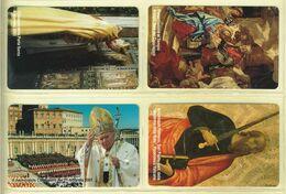 CARTA TELEFONICA VATICANA - NUMERO 82/85 - NUOVA - URMET- GARANTITE MAGNETIZZATE - VATICAN PHONE CARD - Vatikan