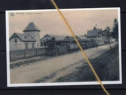 PHOTO MANHAY LUXEMBOURG STATION VICINAL TRAM REPRO - Manhay