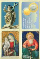 CARTA TELEFONICA VATICANA €- NUMERO 90/93 - NUOVA - URMET- GARANTITE MAGNETIZZATE - VATICAN PHONE CARD - Vatikan