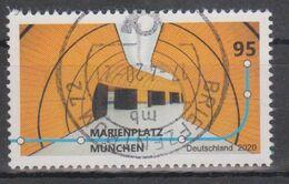 Deutschland 2020. U-Bahnhöfe: Marienplatz München, Mi 3538 Gebraucht - [7] République Fédérale