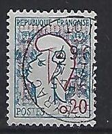 France 1961 Marianne De Cocteau (o) O.20c (type II) - 1961 Marianne De Cocteau