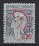 France 1961 Marianne De Cocteau (o) O.20c (type I) - 1961 Marianne De Cocteau