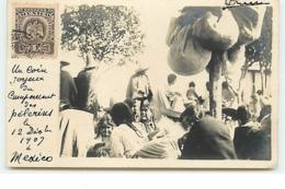 MEXICO - RPPC - Un Coin Joyeux Du Campement Des Pélerins 1907 - Mexico