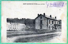 SAINT SAUVEUR DE PEYRE - LA GARE - Sonstige Gemeinden