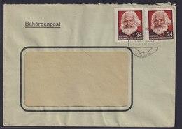 DDR Brief MEF 349 Karl Marx Behördenpost Stadtlengsfeld Rhön Thüringen - DDR
