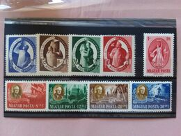 UNGHERIA Anni '40 - Serie Complete Nuove * + Spese Postali - Unused Stamps