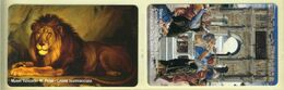 CARTA TELEFONICA VATICANA €- NUMERO 126/129 - NUOVA - URMET- GARANTITE MAGNETIZZATE - VATICAN PHONE CARD - Vatikan