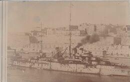 Cuirassé Courbet Carte Photo - Warships