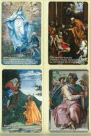 CARTA TELEFONICA VATICANA €- NUMERO 130/133 - NUOVA - URMET- GARANTITE MAGNETIZZATE - VATICAN PHONE CARD - Vatikan