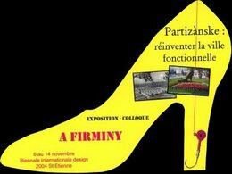 Marque-page - Biennale Internationale Design - 2004 - Firminy - Marque-page Découpé / Détouré - Segnalibri