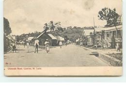SAINTE-LUCIE - Chaussée Road - Castries - Saint Lucia