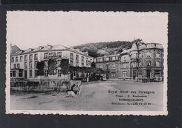 Belgien AK Royal Hotel Des Etrangeres Remouchamps - Aywaille