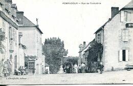 N°2989 R -cpa Pompadour -rue De L'industrie- - Otros Municipios