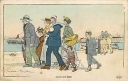 Illustration De Mario PEZILLA , Convoyeur( Style Gervaise ) , * 424 57 - Otros Ilustradores