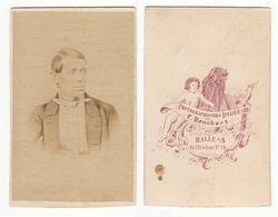 CDV Photo Foto: F. Benckert, Halle A/S. - GUTE RÜCKSEITE - Feines Herrenportrait, Circa 1860er, Mann Homme Man - Old (before 1900)