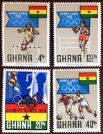 Ghana 1968 Olympic Games MNH - Ghana (1957-...)