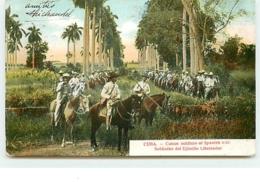CUBA - Cuban Soldiers Of Spanish War - Cuba