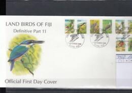 Fiji Michel Cat.No. FDC 745/752 Birds - Fiji (1970-...)