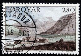 Faroe Islands   1985 Paintings    MiNr. 112   (O)   ( Lot E 1297) - Féroé (Iles)