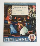 Protège-cahier VELAINE Pierre De Brunehaut Années 40 Confiture MATERNE Ill Benoît GILSOUL Béatrice Mallet Magicienne - Lebensmittel