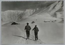 ALBIEZ LE VIEUX (73/Savoie) - Chalets Des Aplanes - Skieur Dans La Neige / Col D'Albanne - Sonstige Gemeinden