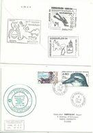 YT 188 Pommier - Chien De Traineau - YT 189 Prion De Salvin - Port Aux Français - Kerguelen - 29/06/1994 - Briefe U. Dokumente