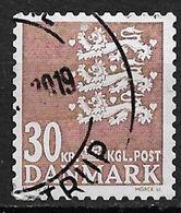 Denmark 2010. Scott #1477 (U) Small State Seal - Danimarca